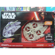 Nave Alcon Milenario De Control Remoto Air Hogs Star Wars