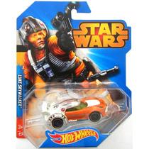 Luke Skywalker X-wing Star Wars Hot Wheels