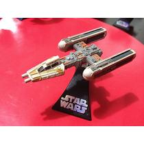 Dj Coma - Nave Die Cast Y Wing - Titanium Star Wars