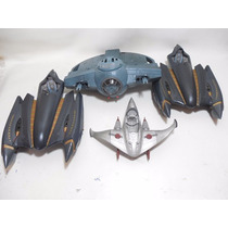 Lote 4 Naves General Grevious Tie Fighter Star Wars E348