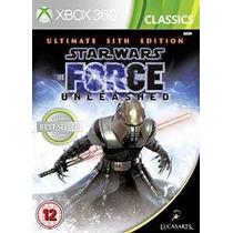 Star Wars El Poder De La Fuerza: Ultimate Sith Edición -xbox