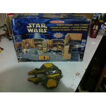 Estacion Espacial Naboo Stars Wars Y Nave Anakin Skywalker