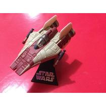 Dj Coma - Nave Die Cast A Wing - Titanium Star Wars