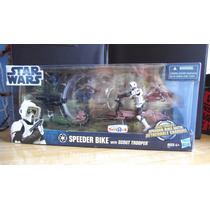 Star Wars - Speeder Bike Con Scout Trooper - Movie Heroes S