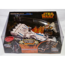 Star Wars Mustafar Duel Battle Set Hasbro Mini Set/nave Rots