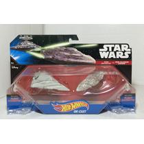 Star Wars Star Destroyer Vs Mon Calamari Cruiser Die Cast