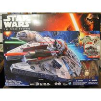 Star Wars Halcon Milenario The Force Awakens Hasbro