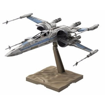 Modelo A Escala Bandai Star Wars, Resistance Xwing Fighter
