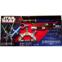 Hasbro Maestro Jedi Blade Builders Skywalker Luces Y Sonidos