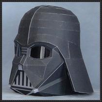Casco Darth Vader Tamaño Natural (para Armar En Papel)