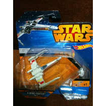 Hot Wheels Naves Star Wars X - Wing Fighter Red 3