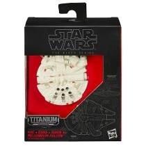 Halcon Milenario Titanium Star Wars Hasbro Black Series Nave