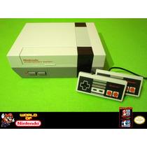 :. Consola Nintendo Nes Impecable!, Completa!!!.