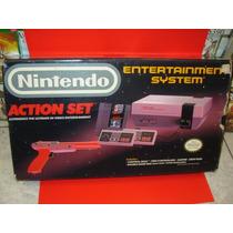 Consola Nintendo Nes Con Caja Y Manuales Excelente Estado!!!