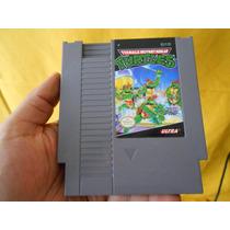 Tortugas Ninja 1 Para Su Nintendo Nes,funcionando.