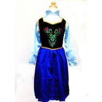 Vestido Fiusha De Anna Frozen