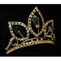 Corona De Pedreria Fina Para La Princesa Rapunzel- Niñas