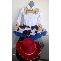 Disfraz Vaquerita Jessy (jessie Tutu) Toy Story Con Sombrero