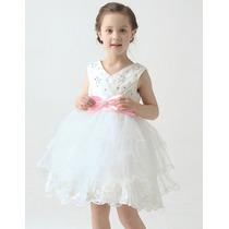 Hermoso Vestido De Gala Para Niña Princesa Moda Koreana 2016