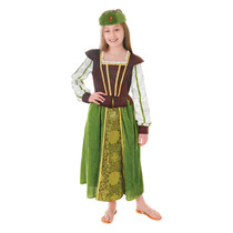 Maid Marion Traje - Medio Medieval Tudor Vestido Niñas