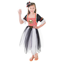 Pirate Costume - Chicas Medio 6-9 Años Princesa Dress