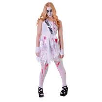 Halloween Costume - Bloody Prom Queen Niñas Adolescentes Fa