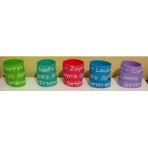Pulseras De Silicon One Direction