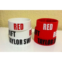 Pulsera De Silicon Taylor Swift Red