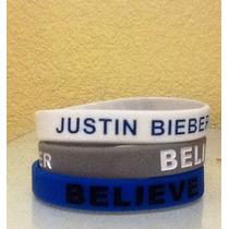 Pulseras De Silicon Justin Bieber Believe