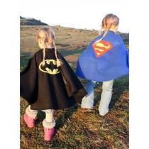 Capa Abrigo De Super Heroe