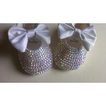 Zapatos De Bautizo Cristal