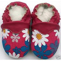 Zapatitos Mocasines Pantunflitas Para Bebé 100% Piel 10.5cm