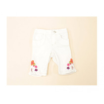 Pantalon Con Flores Bordadas Gymboree