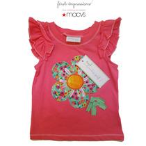 Blusa Blusita Rosa 3/6 Meses Nena Nina Bebe Macys First Impr