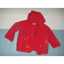 Sweater Sueter Rojo Hanna Andersson Talla 80 Super Linda