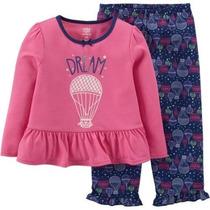 Conjunto Pijama Blusa Pantalón Carters 24 Meses Envio Gratis