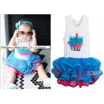 Vestido De Moda Para Niñas Festejo (vestidos) 2014