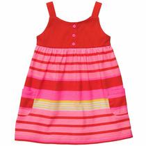 Vestido Carters Niña Conjunto De 2 Piezas, Talla 24 Meses