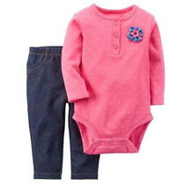 Conjunto De 2 Piezas Para Bebe Rosa Y Azul Carter