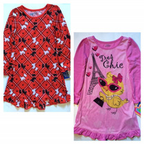 Conjunto De 2 Pijamas Americanas Niña Talla 4 Envio Gratis