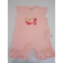 Pañalero Jumpsuit Romper Para Niña Bebe Importado 0/3 Meses
