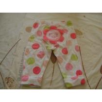 Pantalon Mayon Bebe Niña Blanco Y Rosa Verde Carters 6 Meses
