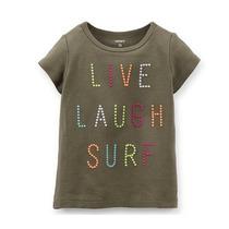 Playera Live Laugh Surf De Bebe Carter