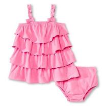 Vestido Calzon Cherokee Bebe Niña T 3-6 Meses Envio Gratis