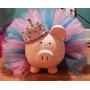 Tutus Vestido Niña Peppa Pig Cerdita Pepa Tutu Moño $499