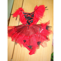 Disfraz Halloween Niña Diabla 6m