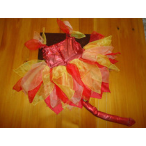 Disfraz Halloween Niña Diabla Talla 2