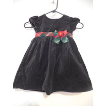Vestido Negro Niña Talla 3 Años