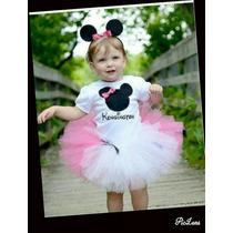 Tutú Para Niñas Personalizados Minnie,kitty,peppa Etc