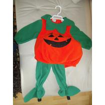Disfraz De Calabaza Para Halloween 2 Años